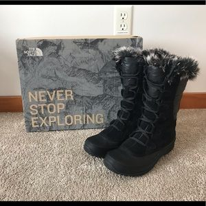 The North Face Winter Boots Nuptse Punra, Size 8.5